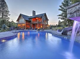 Luxury Lake Placid Home with Pool and Mountain Views!, hotel with pools in Lake Placid