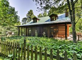 Black Mountain Cabin with Screend Porch and Scenic View, hotel in Black Mountain