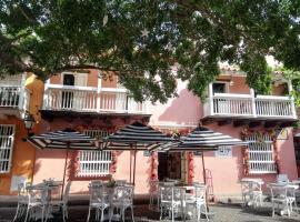 HOTEL GOLIN san diego, hotel in Cartagena de Indias