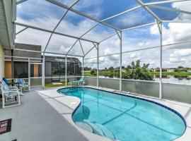 Explore Disney and Universal from this Home with Pool!, hotel in Kissimmee