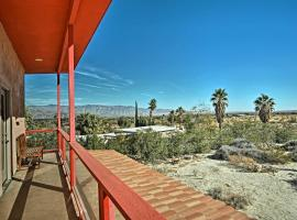 Borrego Springs Home with Desert and Mountain Views!, hotel in Borrego Springs