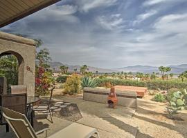 Borrego Springs Townhome with Patio and Mountain Views, hotel in Borrego Springs