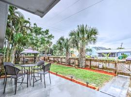 Cute Apt with Backyard and Grill - Steps to Cocoa Beach, vacation rental in Cocoa Beach