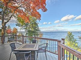 Waterfront Gilford Home with Stunning Lake Views!, hotel in Gilford