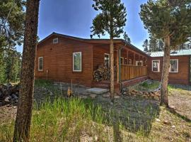 2-Acre Fairplay Cabin with Deck and BBQ - Near Breck!, hotel with parking in Fairplay