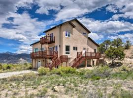 Large Salida Home with Mtn Views - 2 Mi to Downtown!, hotel in Salida