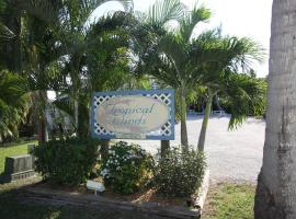 Tropical Winds Beachfront Motel and Cottages, three-star hotel in Sanibel
