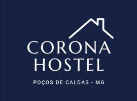 Corona Hostel, hotel perto de Parque Municipal Antônio Molinari, Poços de Caldas