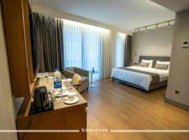 """Kings Cross Hotel Istanbul, viešbutis Stambule, netoliese – Prekybos centras """"Istinye Park"""""""