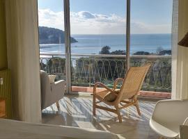 Vue mer exceptionnelle entre Nice et Monaco, apartment in Villefranche-sur-Mer