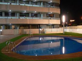 Fenals beach lux apartment with swimming pool, apartamento en Lloret de Mar
