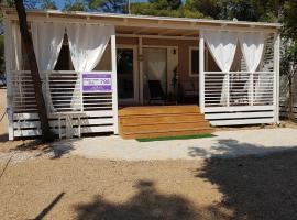 Mobile house Mia, glamping site in Biograd na Moru