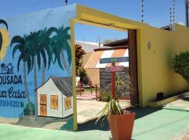 Pousada Sua Casa, guest house in Barra de São Miguel