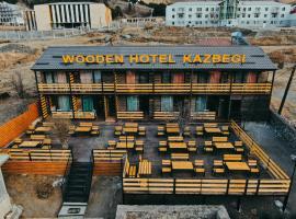 Wooden Hotel Kazbegi, hotel in Kazbegi