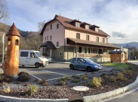 Rodinný penzion Hotel Řeka – hotel w Rzece