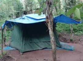 Meemure Unawaththe Gedara Camping Site, luxury tent in Kandy