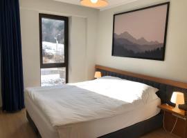 Luxury Hotel Room 107 at Orbi Palace in Bakuriani, hotel in Bakuriani