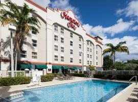 Hampton Inn Ft Lauderdale-Airport North, отель в Форт-Лодердейле
