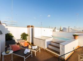 Sevilla Home Center Suites, self-catering accommodation in Seville