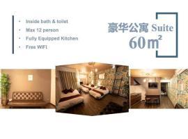 Max 12PPL North Umeda GuestResidence101, hotel in Osaka