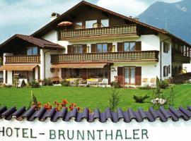 Hotel Garni Brunnthaler, hôtel à Garmisch-Partenkirchen