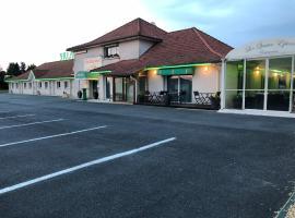 Villa Motel、Stenayのホテル