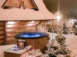 """Domki w Białce """"Wiocha"""", hotel v destinaci Białka Tatrzanska"""