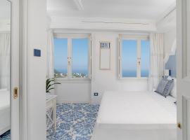 Piazzetta Diefenbach, beach hotel in Capri