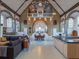 Church conversion for a unique stay and experience, holiday home in Rinsumageest