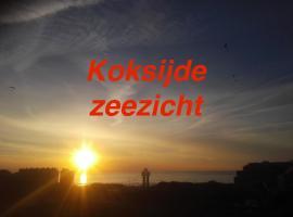 Appartement voor 6 personen in Koksijde met zeezicht, hotel in Koksijde