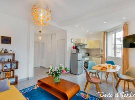 Comfy 1 bedroom close to the station - Dodo et Tartine, hotel in Toulon