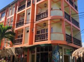Hotel y Restaurante Colonial Playa, отель в городе Тела