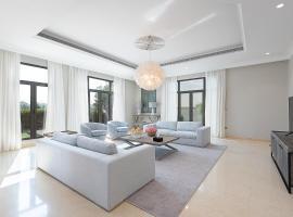 Maison Privee - Stylish Luxury Villa w Pool & Beach on the Palm, hotel conveniente a Dubai