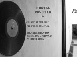 Hostel Positivo, hotel near Ministro Pistarini International Airport - EZE, Buenos Aires