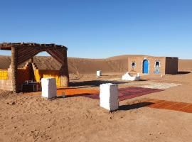Camp under the stars, luxury tent in Mhamid