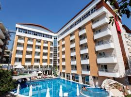 Alaiye Kleopatra Hotel, отель в городе Аланья, рядом находится Аквапарк Alanya
