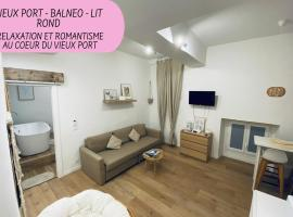Urbinn Flat - Lit Rond, Jacuzzi, Vieux-Port, PARKING, hotel with jacuzzis in Marseille