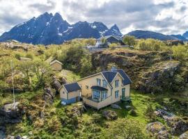 Sea-view house in Sund, Ferienhaus in Sund