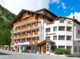 Hotel Portjengrat, Hotel in der Nähe von: Allalin Glacier, Saas-Almagell