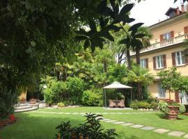 Villa Palmira Kinderfreies Hotel, hotel in Cannobio