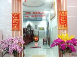 Khương Tho Hotel, hotel in Con Dao