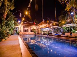The Sanctuary Villa Battambang, hotel in Battambang