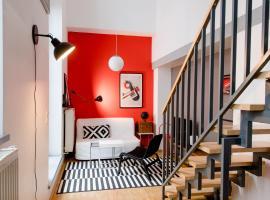 LE-Style! NEU Top-Galerie-Studio Bauhaus-Stil, Ferienwohnung in Leipzig