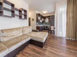 Apartment on Parusnaya 15, hotel near Bolshoy Ice Palace, Adler