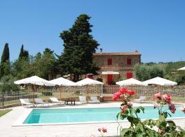 Villa Sara, smeštaj na selu u gradu Suvereto