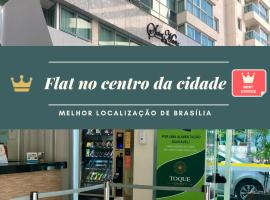 Flat no centro, Saint Moritz, hotel near Cultural Complex of the Republic, Brasilia