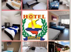Hotel Zenit de Colombia, hotel en Puerto López