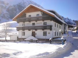 Gästehaus Zugspitzblick, Pension in Berwang