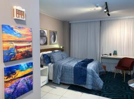 Fusion SHN Flat de luxo - Melhor localização de Brasília, hotel with pools in Brasilia