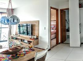 Lindo Flat no Iloa Barra de São Miguel, apartment in Barra de São Miguel